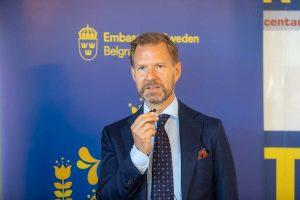 Juakim Vern zamenik ambasadora Švedske