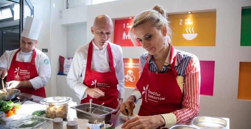 Pobednicka ekipa Kulinarskog maratona